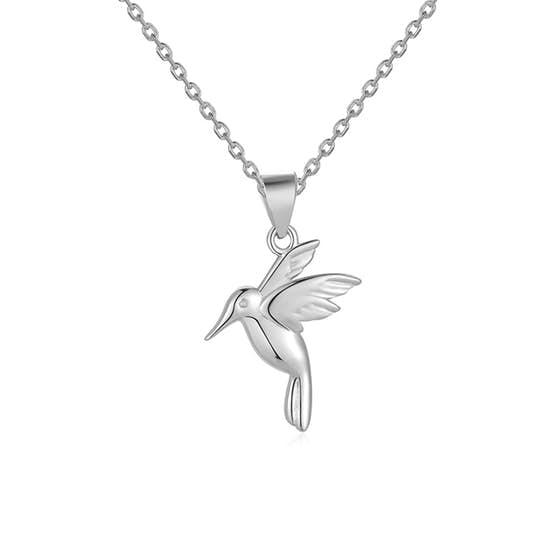 Tiny Bird pendant von A-Hjort in Silber Sterling 925|Blank