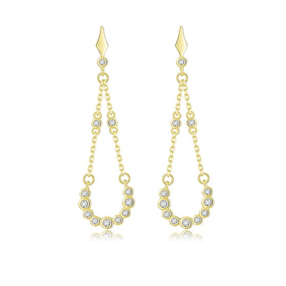 Alma Zircons earrings