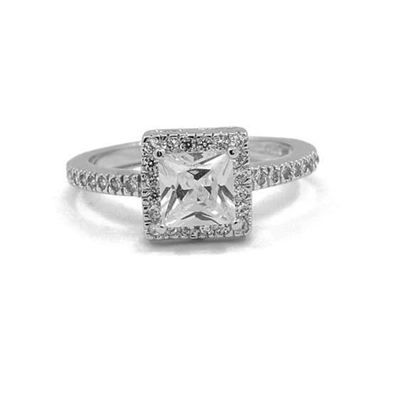 Spring ring von A-Hjort in Silber Sterling 925