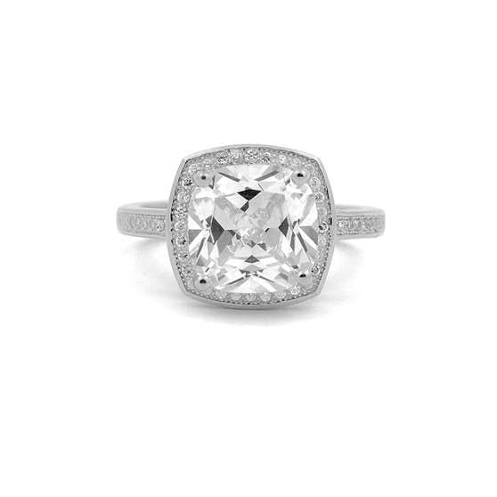 Anne ring von A-Hjort in Silber Sterling 925
