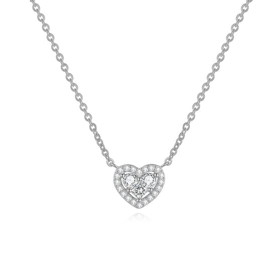 Heart necklace from A-Hjort in Silver Sterling 925|Blank