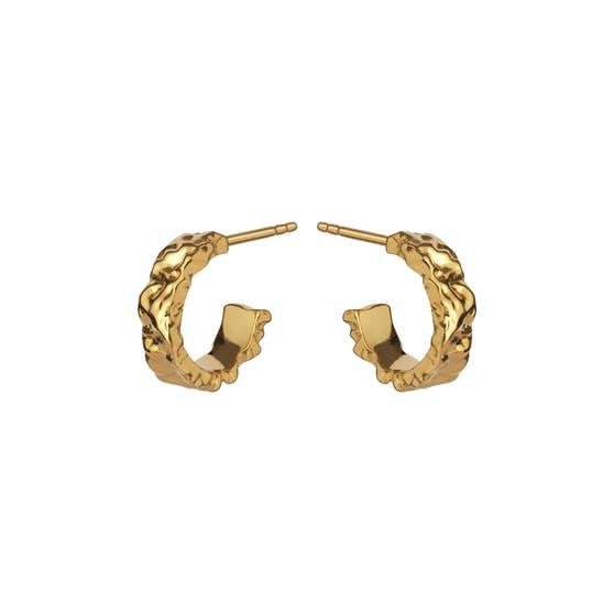 Aio Small earrings från Maanesten i Förgyllt-Silver Sterling 925