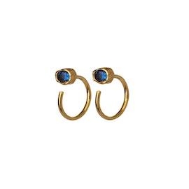Mesa Dark Blue earrings