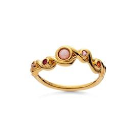 Alva Pink Opal ring