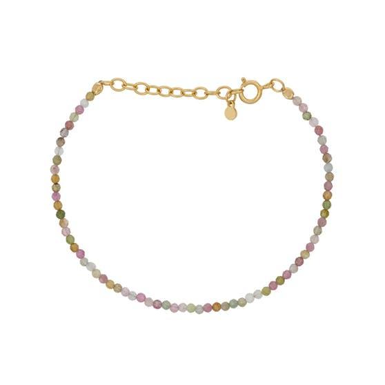 Light Rainbow bracelet fra Pernille Corydon i Forgylt-Sølv Sterling 925