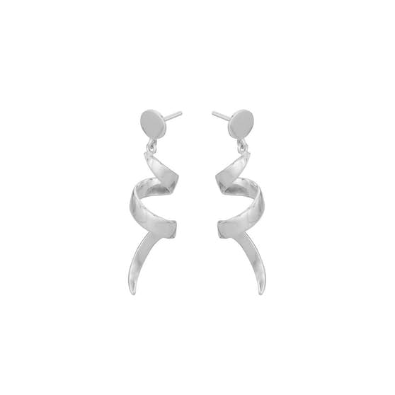 Small Loop earrings von Pernille Corydon in Silber Sterling 925