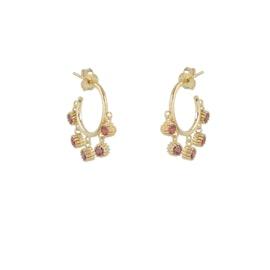 Mathilda Ruby earrings