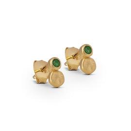 Asja earsticks Green Agate