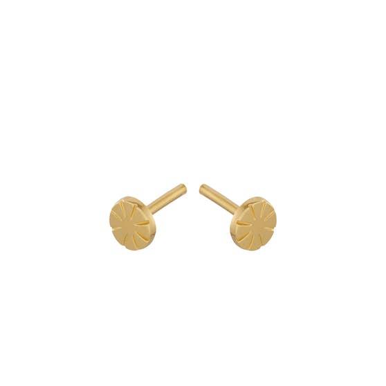 Copenhagen earsticks från Pernille Corydon i Förgyllt-Silver Sterling 925