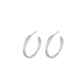 Paris hoops fra Pernille Corydon i Sølv Sterling 925
