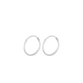 Micro Plain hoops fra Pernille Corydon i Sølv Sterling 925