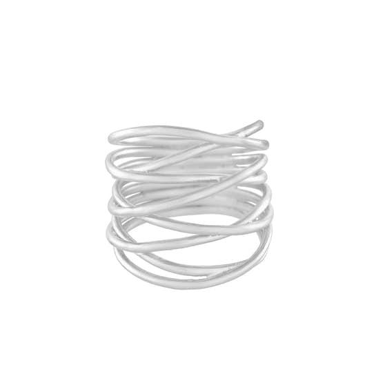 Paris ring fra Pernille Corydon i Sølv Sterling 925