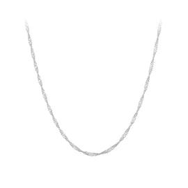 Singapore necklace short