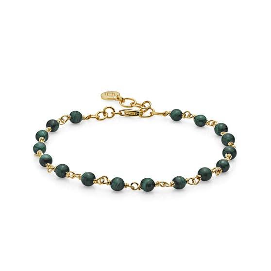 Miss Pearl bracelet Malakit