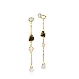 Orient earrings Smoky long