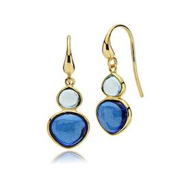 Skyline earrings Blue