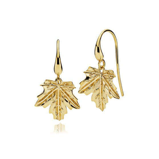 Nature earrings from Izabel Camille in Goldplated-Silver Sterling 925