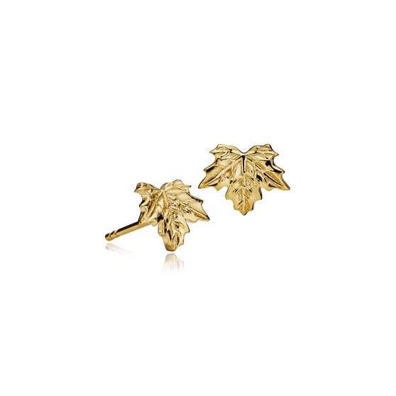 Nature earsticks fra Izabel Camille i Forgylt-Sølv Sterling 925