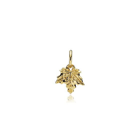 Nature pendant small from Izabel Camille in Goldplated-Silver Sterling 925