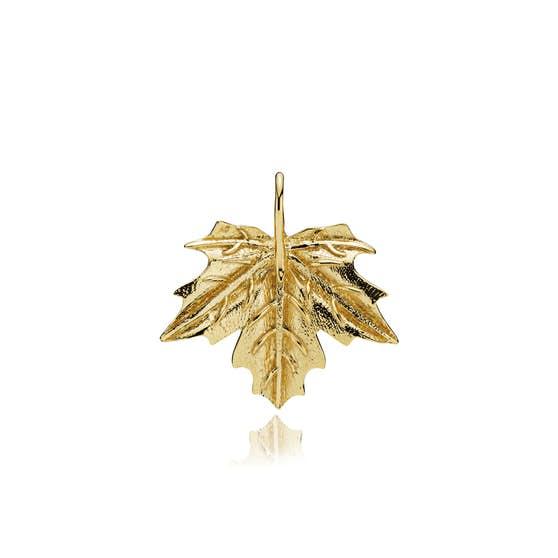 Nature big pendant von Izabel Camille in Vergoldet-Silber Sterling 925