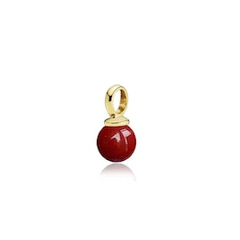 New Pearly pendant Red