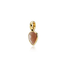 Droppie pendant Peach Moonstone