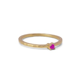 Live ring Pink Topaz