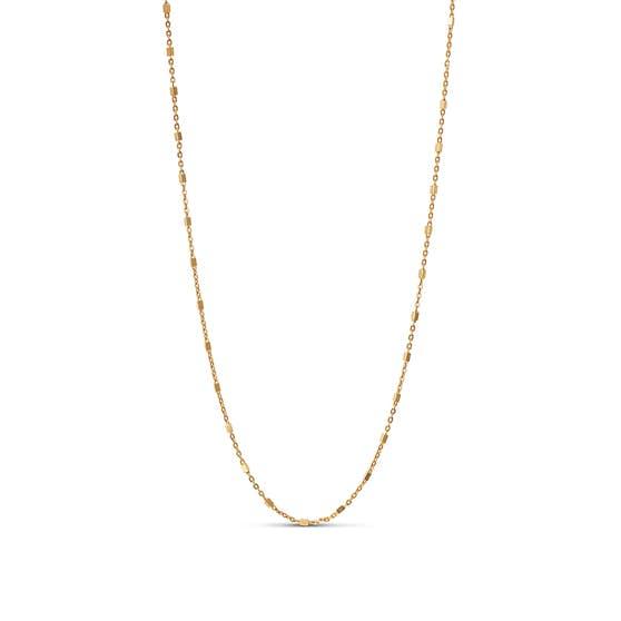 Elva necklace fra Enamel Copenhagen i Forgyldt-Sølv Sterling 925|Blank