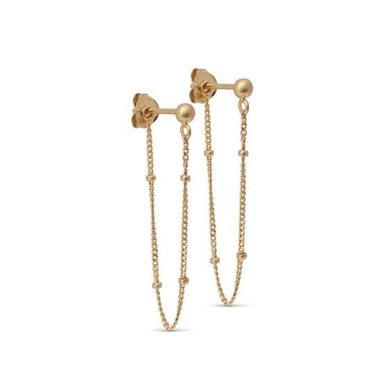 Bea earrings från Enamel Copenhagen i Förgyllt-Silver Sterling 925