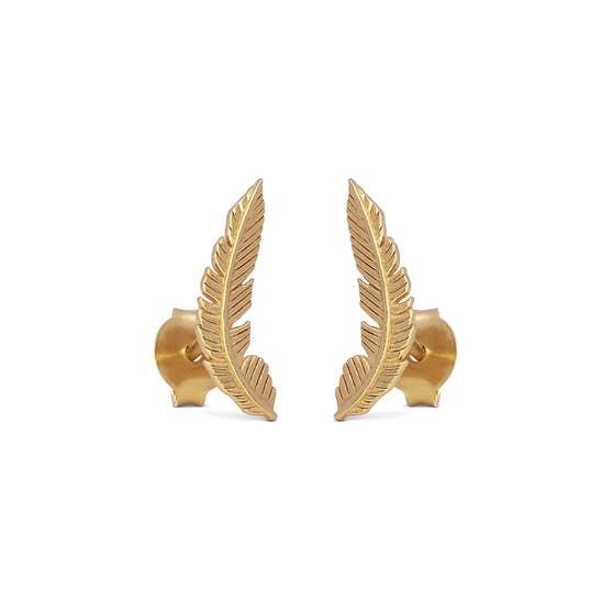Birla earrings from Enamel Copenhagen in Goldplated-Silver Sterling 925