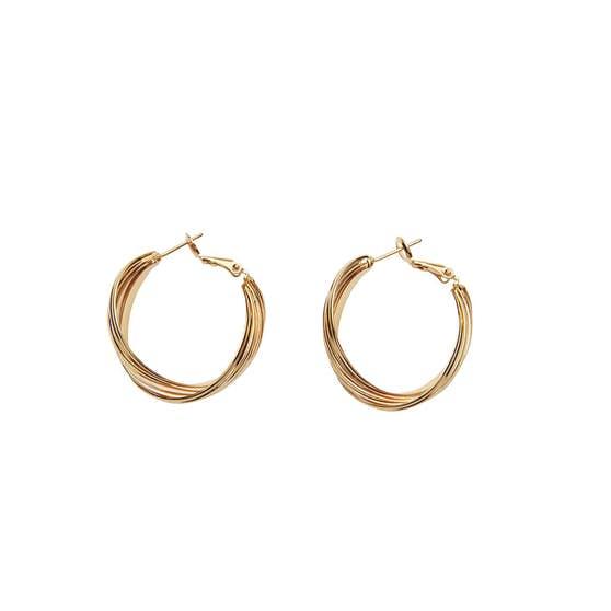 Grace earrings från Pico i Förgyllt Mässing