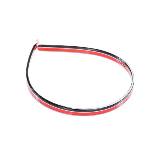 Stacey Headband Rose Stripes