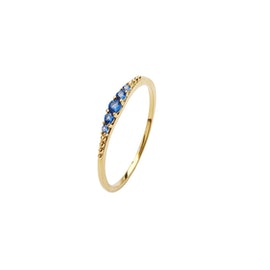 Aisha Crystal ring Blue