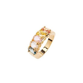 Janet Crystal ring Multi