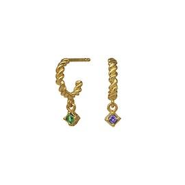 Herle creol earrings