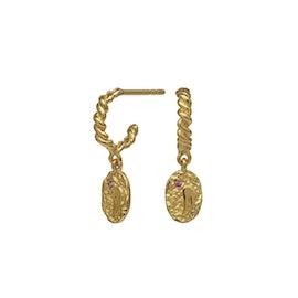 Cloud creol earrings