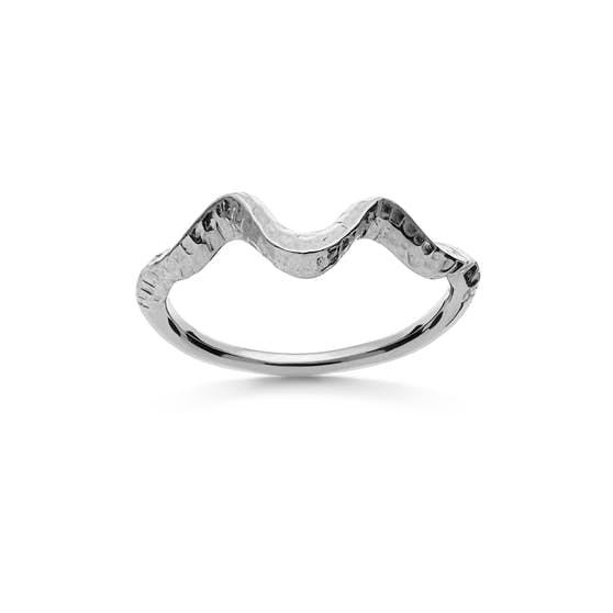 Arvia ring från Maanesten i Silver Sterling 925| Matt,Blank