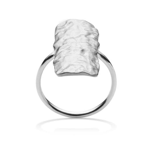 Cuesta ring från Maanesten i Silver Sterling 925|Blank