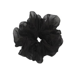 Sky Scrunchie Black