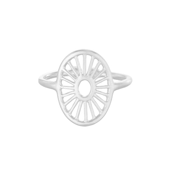 Small Daylight ring von Pernille Corydon in Silber Sterling 925
