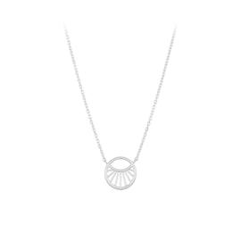 Small Daylight necklace fra Pernille Corydon i Sølv Sterling 925| Matt,Blank