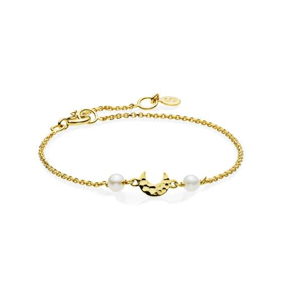 Dream bracelet från Sistie i Förgyllt-Silver Sterling 925|Blank