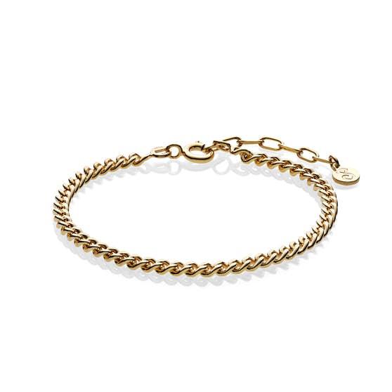 Becca bracelet fra Sistie i Forgyldt-Sølv Sterling 925|Blank