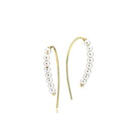 Dashing White earrings