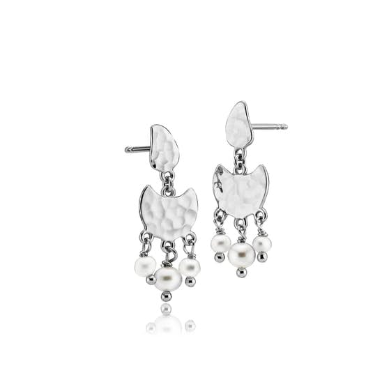 Dream Pearl earrings fra Sistie i Sølv Sterling 925