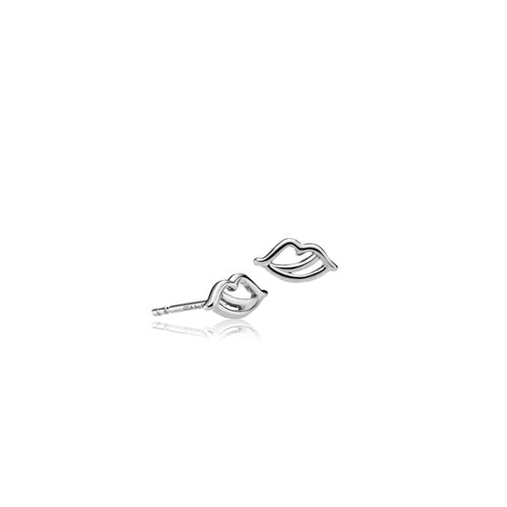 The Kiss earsticks von Sistie in Silber Sterling 925