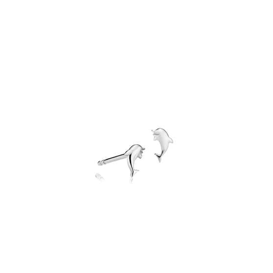 Sea Dolphin earsticks von Sistie in Silber Sterling 925