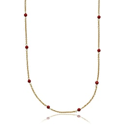 India necklace Red