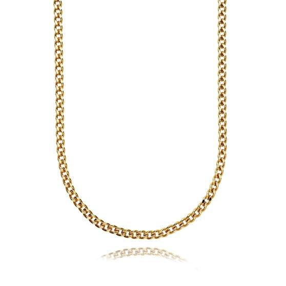 Becca necklace från Sistie i Förgyllt-Silver Sterling 925|Blank