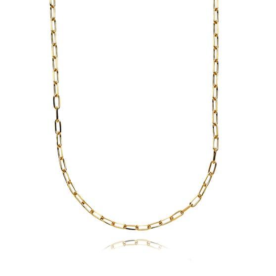 Emma necklace von Sistie in Vergoldet-Silber Sterling 925|Blank